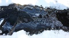 Glace ondée (ZUHMHA) Tags: villaudemard france neige snow hiver winter nature montagne mountain macro matière texture cristaux glace gel ice line lignes courbes curve geometry géométrie form formes
