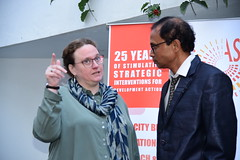 Celebrating 25 years of stimulating strategic interventions for development actions.