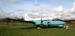 G-AOTI DH114 Heron (kitmasterbloke) Tags: dehaviland museum londoncolney hertfordshire uk aviation wreck relic wr civil airliner jet