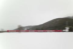 RB17269 auf der Fahrt nach Seebrugg (M. Schirmer Berlin) Tags: deutschland germany scharzwald blackforest deutschebahn db regio regionalbahn rb 146 verkehrsrot wiese mitzieh titisee dreiseenbahn kurve feld doppelstock dosto mitzieheffekt panning train railroad railway schnee snow
