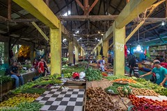 Ruteng Marketplace (0753) (Stefan Beckhusen) Tags: people market marketplace food goods building architecture shop sell marketstall crowd bazaar store explore lifestyle streetphotography scenery ruteng flores indonesia asia traffic color day shops business construction indoor narrow