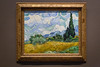 Wheat Field with Cypresses (Oleg.A) Tags: usa newyork manhattan inside city centralpark vincentvangogh painting sculpture summer colorful interior artist museum style exposition exhibition art themetropolitanmuseumofart architecture nyc america town