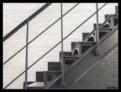 Jailhouse Rock! (LiesBaas) Tags: prison jail gevangenis trap stairs madebyme verlasseneorte lostplaces urbex jailhouserockbyliesbaas