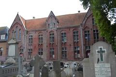 Kloostervleugel, Meerbeke (Erf-goed.be) Tags: klooster meerbeke ninove archeonet geotagged geo:lon=40407 geo:lat=508245 oostvlaanderen