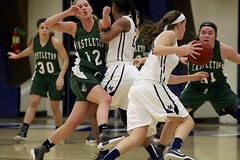 No-contact sport (stephencharlesjames) Tags: basketball womens sport ball indoor middlebury college vermont ncaa action castleton