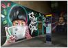 Shakespeare and Soup (donbyatt) Tags: london streetart urbanwalls spraycans graffiti u3a outing thames southbank wagamama woskerski shakespeare jimmyc