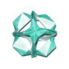 Kusudama (Vladimir Phrolov) Tags: modular origami paperfolding