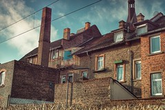 Old Town... (hobbit68) Tags: old alt house haus himmel sky wolken clouds fenster windows