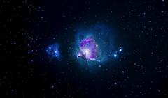 M42 (Orion) and Running man nebula from Paris (Franck Zumella) Tags: sony a7s m42 orion nebula astro astrophoto astronomie astronomy telescope sky ciel deep noir black profond nebuleuse galaxy galaxie running man a7 tamron 150600 astrometrydotnet:id=nova2772724 astrometrydotnet:status=solved