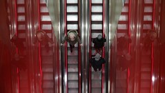 Going places (ewitsoe) Tags: video tkmaxx escalator movement ride goingdown goingup people ewitsoe canon eos 6dii 50mm warsaw poland warszawa winter shopping shop commerce shoppers pedestrian citylife city urban fun cinematic cinema