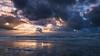 Dramatic sunset in Egmond aan Zee (stevepe81) Tags: skyporn landscape sunset sonyalpha6300 wasser landschaft himmel sony sonnenuntergang egkondaanzee nordsee waves holland lightroom cloudporn beach outdoor mirrorlesscamera strand egmond meer sea sky seascape northsea clouds wolken dramatic