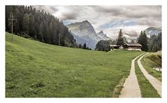 Rural Idyll. (Anscheinend) Tags: schweiz schwyz switzerland alpen alps alpi alpes mountains montagne wandern hiking trekking camminare caminhar rural nature landscape paysage paesaggio paisagem