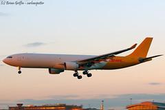 EI-HEA | ASL Airlines Ireland | Airbus A330-322(F) | EIDW | 20180217 (carlowspotter) Tags: eihea airbus a330300f freighter cargo first dublin a330f a333f asl ireland hongkong hong kong airlines aircraft sunset rare