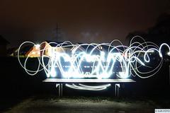 DJR-Lichtbank (DJR-FOTO) Tags: djrfoto djr deutschland dortmund germany bank licht landscape landschaft lights art night nacht
