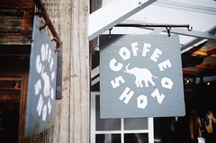 """Coffee Shozo"" (Eric Flexyourhead) Tags: minamiaoyama 南青山 aoyama 青山 minato minatoku 港区 tokyo 東京 japan 日本 city urban detail fragment shop store coffee café coffeeshop coffeeshozo elephant ricohgr"