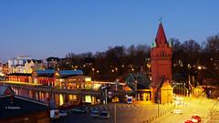 Hubbrücke (petra.foto busy busy busy) Tags: fotopetra canon 5dmarkiii lübeck langzeitbelichtung blauestunde hafen nachtaufnahme schleswigholstein architektur stadt hubbrücke