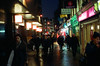 Central London (Mondowski) Tags: canonftql canon cinestill800 cinestill london londonstreet lights centrallondon streetphotography street neon nightphotography analog analogphotography londonnight