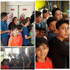 With some lovely  orphans in amman (Zaid Horani) Tags: orphan orphans amman jordan zaidhorani kids زيدالحوراني