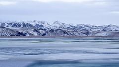 shades of blue (maotaola) Tags: iceland winterlandscape blue blueazul nieve montaña paisaje lonely winterscenary