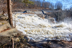 Great Falls, Falls Village, CT (jennifer.yakeyault) Tags: waterfall powerful power energy strong greatfalls fallsvillage connecticut canaan winter water newengland landscape outdoors outdoor outside dam trees rocks stone housatonicriver