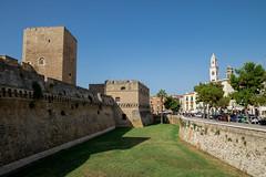IMG_2891.jpg (Bri74) Tags: architecture bari castellonormannosvevo castle moat puglia