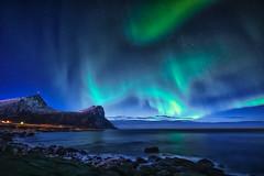 (steinliland) Tags: auroraborealis aurora polaris solaractivity lofotenisland ionosphere space universe northernlights