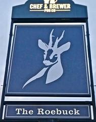 The Roebuck - Bilsborrow, Lancashire. (garstonian11) Tags: pubs lancashire bilsborrow pubsigns
