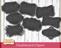 Chalkboard-clipart-labels (CherrypinkEtsy) Tags: chalkboardclipartlabels chalkboard labels clipart frames digitalframe digitallabel printablelabel