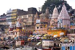 Prayag ghat (Dick Verton ( more than 12.000.000 visitors )) Tags: traveling india asia varanasi prayagghat ghats people