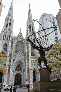 Atlas, opposite St Patrick's Cathedral