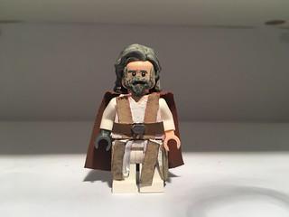 Custom LEGO Force awakens/ Last Jedi Luke Skywalker.