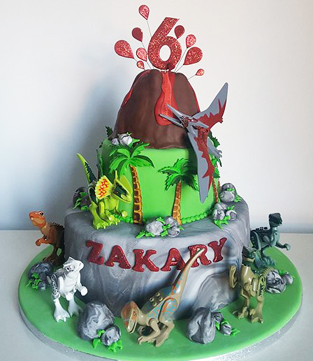 The World's Best Photos Of Cake And Dinosaur
