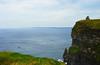 The Cliffs (angelsgermain) Tags: cliffs rocks coast ocean sea water sky horizon boat islands aranislands grass tower view atlantic cliffsofmoher aillteanmhothair countyclare ireland éire