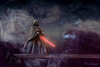 Darth Vader Your Father.jpg (mraderstorf) Tags: 2018 glow 50mmf14 36526 fight nikond700 darthvader force theme clouds ledge lightsaber smoke sithlord space dark nebula 365 father starwars 365project darkside tabletop lighttent project365 art composite star war posture