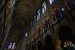 Notre-Dame de Paris (Sean Munson) Tags: france paris church cathédralenotredamedeparis notredamedeparis cathedral notredame ourladyofparis interior