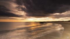 Eleonore arrive ! (flo73400) Tags: sète sunset plage nuage cloud landscape paysage longexposure poselongue