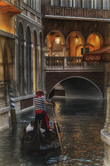 The Gondolier (Gary Burke.) Tags: venetian gondola grandcanal gondolier boat water resort hotel vegas vegasstrip lasvegas lasvegasstrip casino nevada nv klingon65 garyburke building architecture gambling trip travel sincity thestrip tourism touristattraction wanderlust traveling city citylife vacation urban travelphotography canoneos70d canon dslr eos 70d italian sailing citystyle venetianresort arch people canal