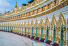U Min Thonze Pagode in Saigang near to Mandalay (Myanmar) (patuffel) Tags: u min thonze pagode myanmar pagoda buddha colonnade