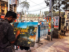 A Painter (Chiradeep.) Tags: streetphotography streetshot streetcapture streetframe streetcandid candidmoments candidcapture candidstreet candidkolkata candidcalcutta painter artist painting canvas art street mosque calcutta kolkata westbengal india asia documentary reportage photojournalism androidphotography mobilephotography smartphonephotography huawei honor5c