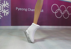 3. Figure Skating at the Olympics (Foxy Belle) Tags: doll barbie ice skate olympics korea 2018 competition costume purple wall pyeong chang mtm made move mattel