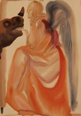 Salvador Dalì (Salvador Domènec Felip Jacint Dalí i Domènech 1904-1989) - Chiesa e Impero - La Divina Commedia (acquarello 1950-1954) - Historian Gallery - Gavirate (Varese) (raffaele pagani (away for a while)) Tags: salvadordalì salvadordomènecfelipjacintdalíidomènech ladivinacommedia dantealighieri virgilio virgil labibbia thebible mostra exhibition acquarello watercolor serigrafia screenprinting oltronaallago gavirate provinciadivarese canon