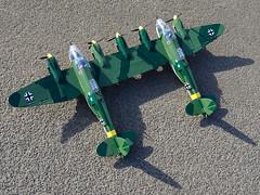 Cobi_Heinkel_He-111_Z-1_Zwilling_MOC_02 (El Caracho) Tags: cobi small army building blocks ww2 warplane plane bomber heinkel he111 zwilling moc