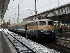 Centralbahn 110 383 (jvr440) Tags: trein train spoorwegen railways railroad münster hbf hauptbahnhof br 110 bügelfalte centralbahn pappnasenexpress