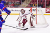 Hockey v Lowell -6 (dailycollegian) Tags: carolineoconnor umass amherst mullins center press conference umasslowell lowell shutout win matt murray niko hildenbrand coach carvel