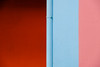 18015211 (felipe bosolito) Tags: color minimalism red blue orange urban abstract stripes pipe singapore fuji xpro2 xf1655 velvia