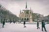 ... (Gabriel M.A.) Tags: canon 5d fullframe 1740l f4 17mm f71 paris france notredame neige snow