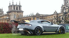 GT12 (Beyond Speed) Tags: aston martin astonmartin vantage gt12 v12 supercar supercars cars car carspotting nikon grey spoiler yellow automotive automobili auto automobile uk blenheim palace blenheimpalace limited rain