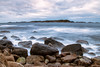 Viksøy utsikt mot Narøyna .. (Morten T.) Tags: longexposure longexpoelite sea sealife seascape sund canon canoneos80d canonphoto photography pink purple clouds cloud collors