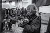 Little Wing (sdupimages) Tags: portrait noirblanc blackwhite man pigeons rue street montmartre paris bw nb birds oiseaux candid
