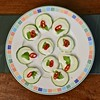 Apéritif (@WineAlchemy1) Tags: apéritif aperitivo crémefraiche courgette zucchini chilli basil food starter plate healthyeating vegetarian tricolore cold horsdoeuvre france bugey ain